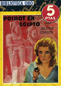 BIBLIOTECA-ORO-POIROT-EN-EGIPTO-AGATHA-CHRISTIE-MOLINO-1930-039-s-FACSIMIL-2007