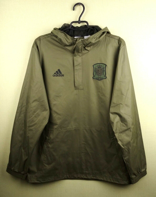 Spain Windbreaker Jacket training MEDIUM CE8882 soccer footbtutti Adidas