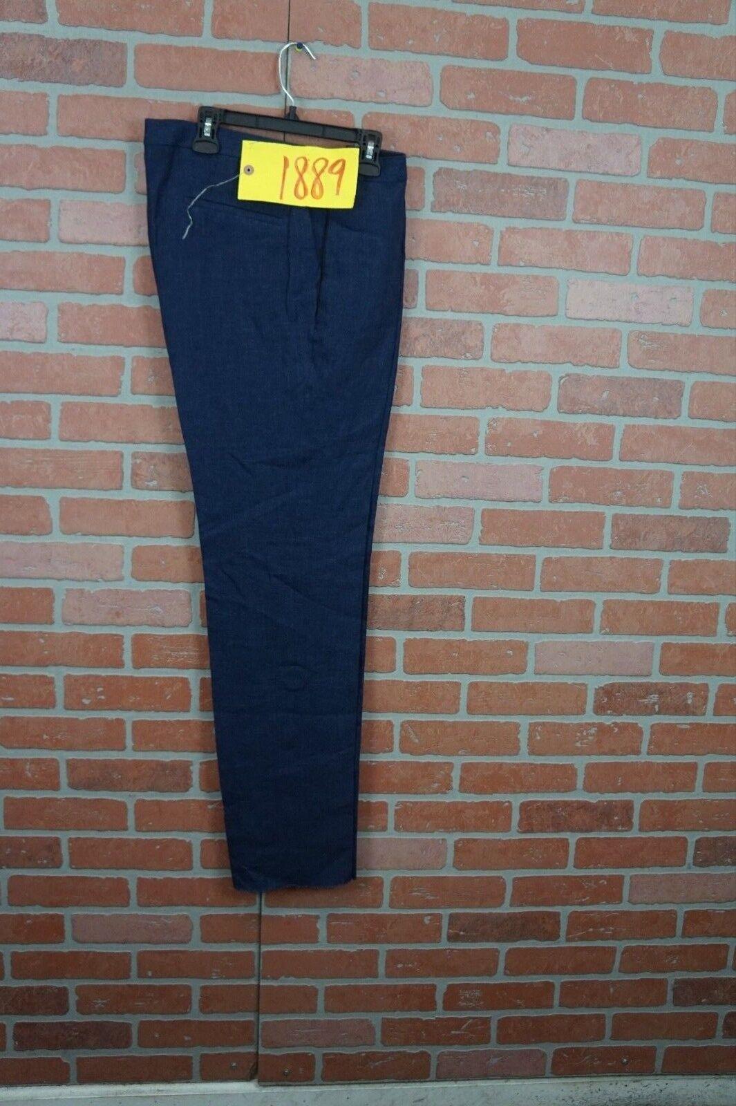 NEW HUGO BOSS Huge Genius Trim Fit Navy Wool PANTS  SIZE 40