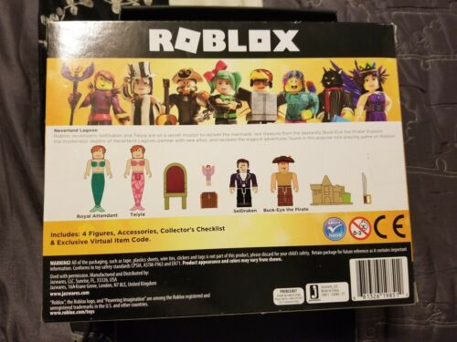 ROBLOX Neverland Lagoon Includes 9 pieces Mix /& Match Parts 6+