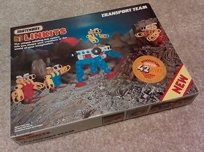 RARE Vintage & Retro Matchbox Linkits TRANSPORT TEAM 1984 ***Free UK P&P***