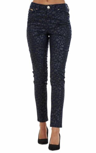 Ladies Printed Fashion Skinny Pants Womens Jeans Super Stretch Jeggings