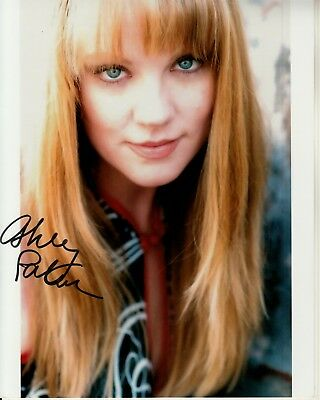 Photographs Ashley Palmer Hand-signed Beautiful 8x10 Color Closeup Authentic W/ Uacc Rd Coa Pure White And Translucent