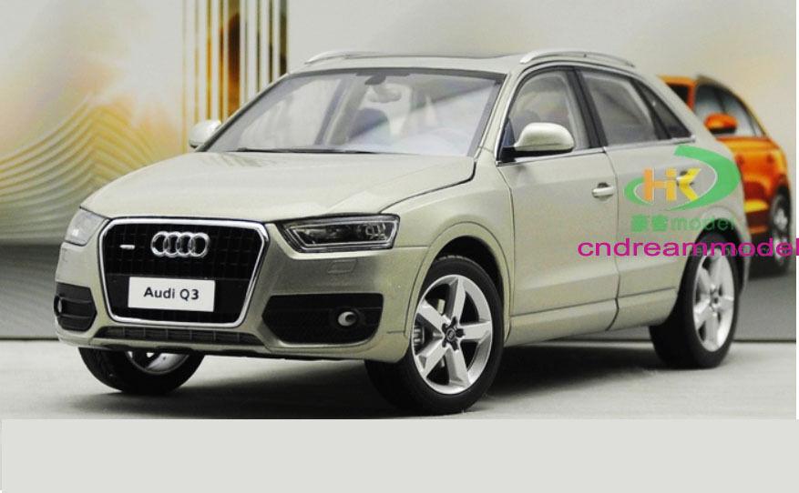 1 18 Dealer Edition AUDI Q3 SUV Die Cast Model
