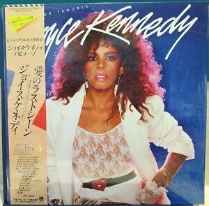 JOYCE KENNEDY: LOOKIN' FOR TROUBLE AMP-28113. 1984 Japan NM LP / Sleeve / OBI