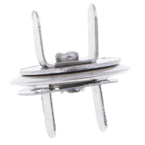 10x Magnetverschluss Magnet Druckknopf Nieten Magnetknöpfe für Nähen,