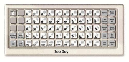CRICUT LITE *ZOO DAY* CARTRIDGE *NEW* WILD ZOO ANIMAL THEMED A-Z  FONT ALPHABET