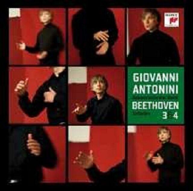"GIOVANNI ANTONINI ""BEETHOVEN SINFONIE 3 & 4"" 2 SACD NEU"