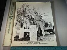 Rare Original VTG Janette Scott Gary Lasdun Crack In the World Movie Photo Still