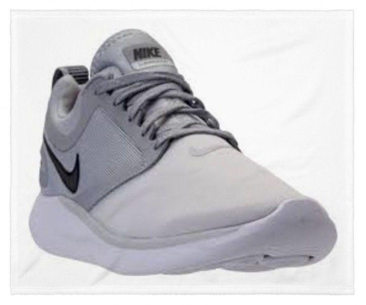 NIB Nike Lunarsolo Running Shoe Platinum Dark Gray AA4079 004 85 A74
