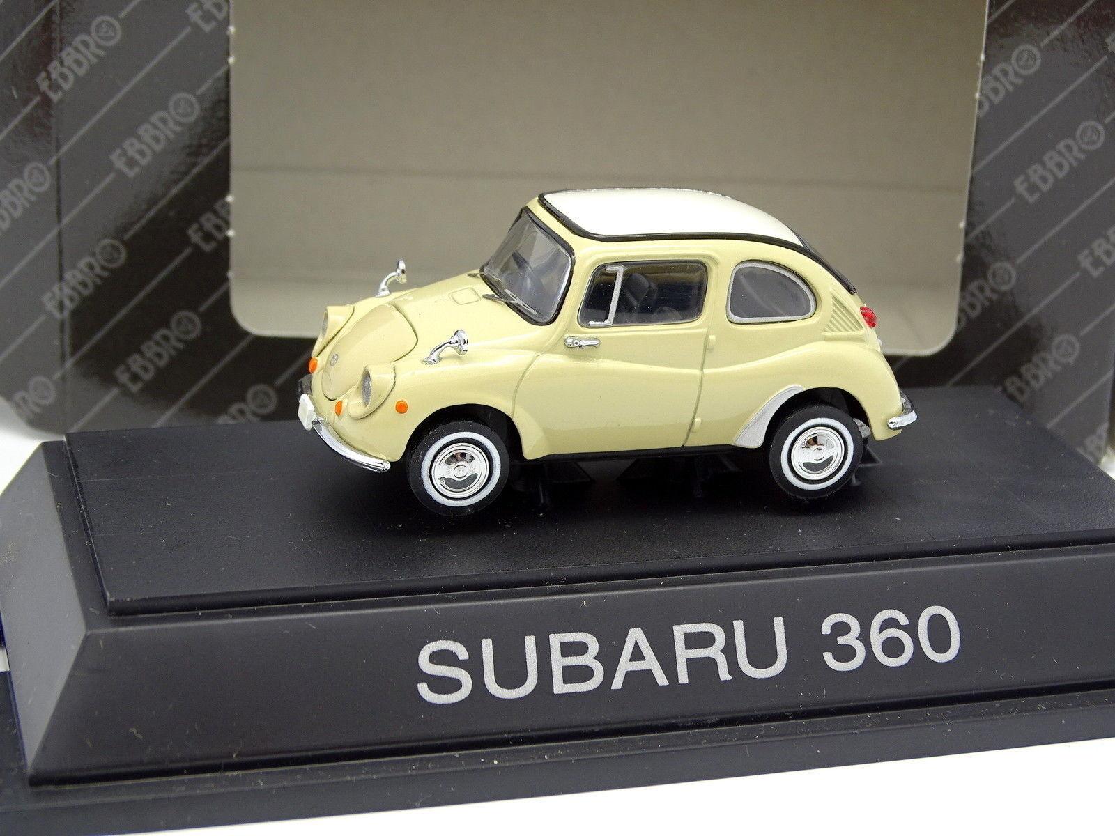 Ebbro 1 43 - Subaru 360 Beige