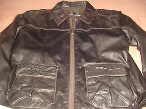 Austin Reed Leather Jacket Xl Ebay