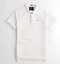 Hollister-men-039-s-short-sleeve-Stretch-Shrunken-Collar-Slim-Fit-Polo-logo miniature 2
