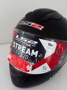 Casque Intégral Ls2 Ff320 Stream Noir Mat Ebay
