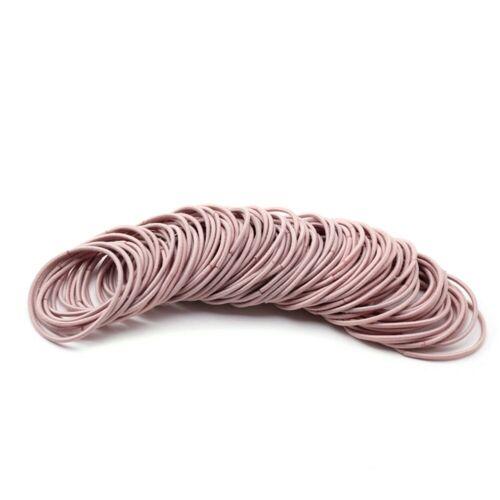 100pcs Lot Frauen Mehrfarbiges Seil Elastische Haargummis Dickes Haarband 50