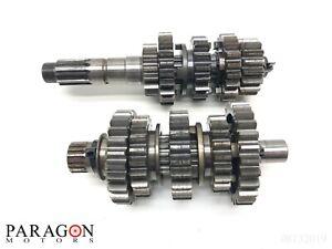 04-2-02-05-Honda-CRF450R-CRF450-CRF-450R-Transmision-Tranny-Gearbox-Gear-Set