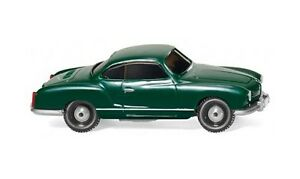 VW-Karmann-Ghia-Coupe-verde-1959-Wiking-003449-Scala-H0-1-87-Modellino-auto
