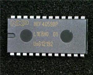 1-x-NXP-HEF4059BP-Divide-By-N-Counter-IC-3-15999-16bit-4-5V-15-5V-PDIP-24