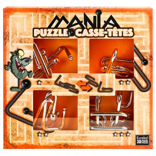 Puzzles & Geduldspiele orange Eureka Puzzle Mania Wolf