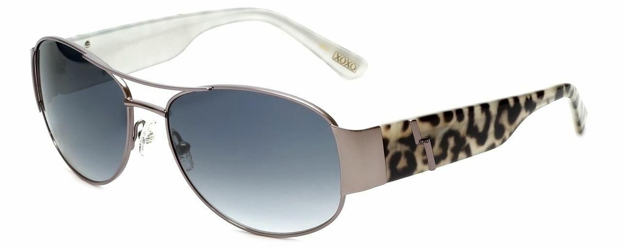 XOXO Authentic Designer Sunglasses X2320CG Aviator in Black Pearl or Brown 57 mm