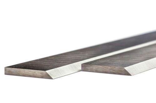 2 fers de dégauchisseuse au HSS en 260 x 20 x 2.5 mm