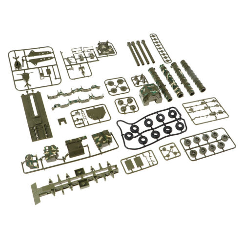 Green 1:72 Car Model Building Kits S300 30N6E2 Vehicle Diecasts Toy Car Gift
