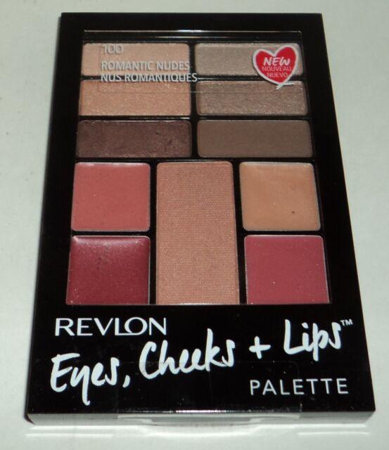 REVLON Eyes, Cheeks & Lips Palette ROMANTIC NUDES 100 New & Sealed