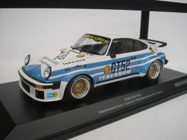 Porsche 934 #52 Nürnburgring 300KM 1976 T.Gifting 1/18 Minichamps 155766452 NEW