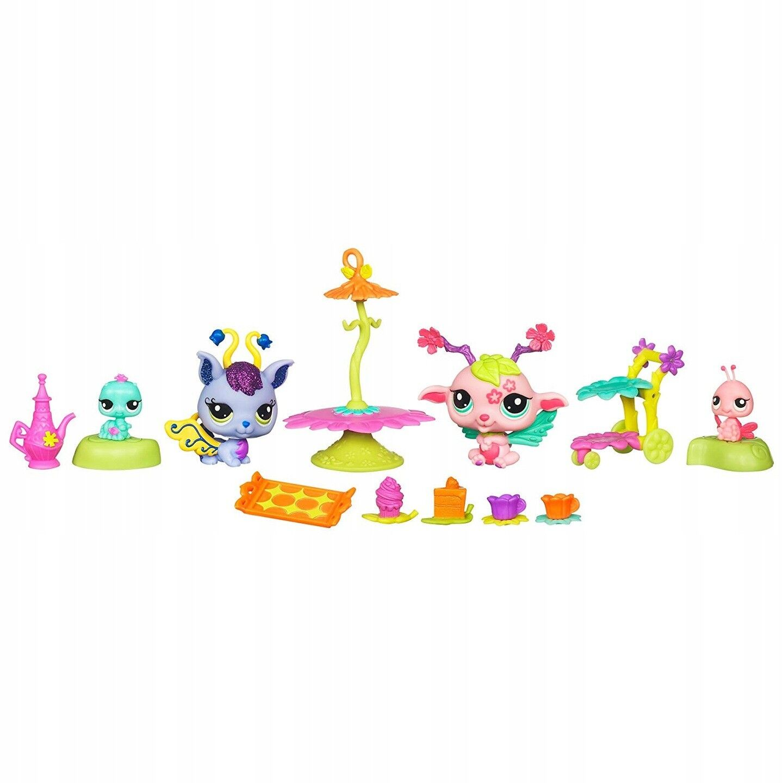 Littlest Pet Shop Garden Fairies Fairies Fairies  Enchanted Tea Party Playset 0c618d