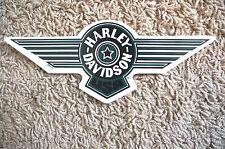 "New Harley Davidson Green Fat Boy USA Decal Sticker Small Sized 8.5"" Outside"