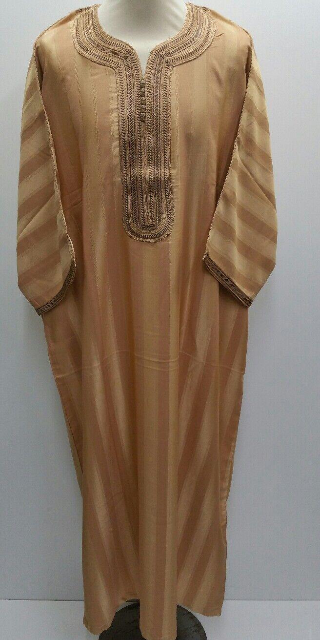 Genuine MGoldccan thobe thobe thobe Djelleba  jalabiya.kandorah.dishdash.jubba..Größe 56 only | Verkauf  0aa50a