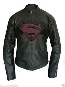 Faux pelle Dawn maschile Batman in Giacca 2016 celebrità Of Superman Vs Justice xZt5zqw4