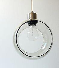 suspension en verre vintage années 60 70 design 1970 lustre