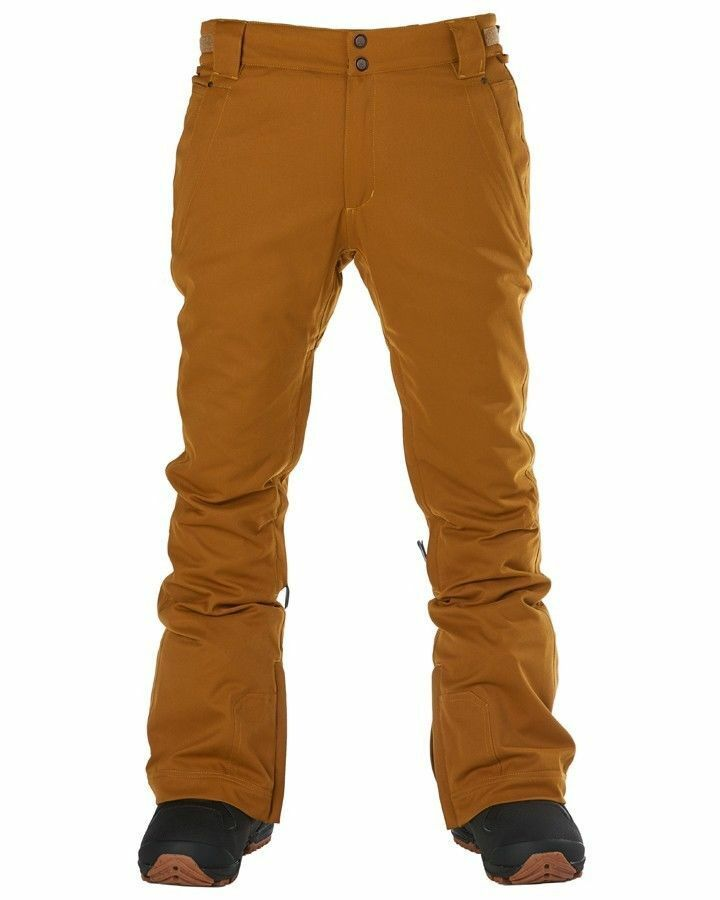 Elude Jean Pant Ski Snowboarding Insulated Waterproof 10K Cathay Spice XL