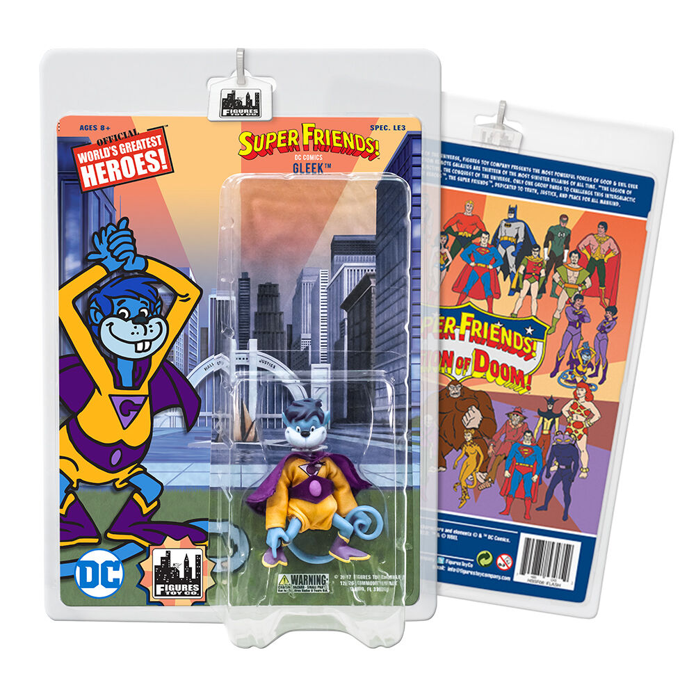Super Friends 8 Inch Retro Action Figures Series Variants  Gleek