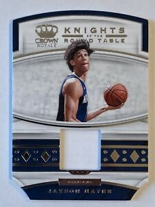 """Jaxson Hayes 2019-20 Crown Royale Knights of the Round Table """"Materials"""" patch"""