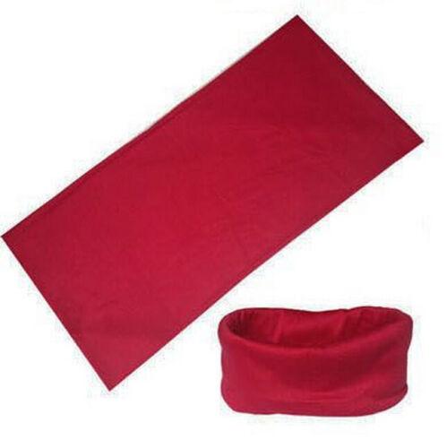 Schlauchschal Bandana-Kopf-Gesichts-Maske Hals Gamasche Kopfbedeckung Mütze Bekleidung