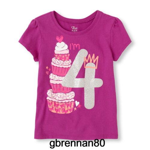~NEW~ 1st 2nd 3rd 4th BIRTHDAY Girls Zebra Kitten Dog Shirts 12-18 M 2T 3T 4T 5T