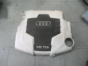 Audi A4 B8 8k Plastic Engine Cover V6 Tdi Diesel Ebay
