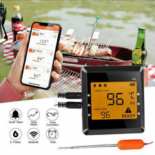 6 Probes Wireless Bluetooth BBQ Meat Thermometer Food Cooking Oven Grill Smoker