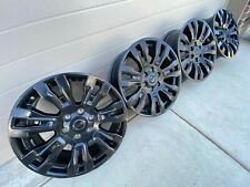 20 Nissan Titan Xd Pro4x Armada 6x55 Oem Factory Stock Wheels Rims Black Pro 4x