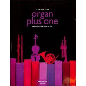 organ-plus-one-Abendmahl-Communion-Orgelnoten-Musiknoten