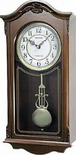 Rhythm Deluxe Wooden Pendulum Wall Clock - Westminster Chime