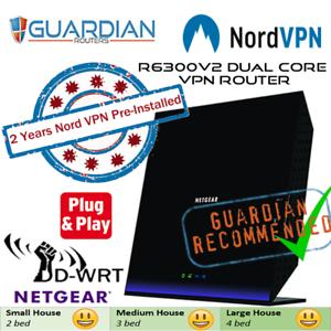 2-Yrs-Nord-VPN-pre-installed-Netgear-R6300v2-Router-All-ISPs-inc-Sky-Q-Virgin