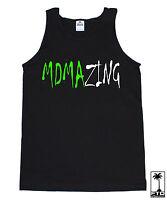 Mdmazing Mdma Amazing Rave Dance Music House Electro Music Edm Party Tank Top