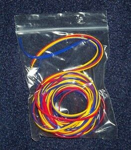 Wonderful Rexlace Plastic Laces Red Blue Yellow Craft