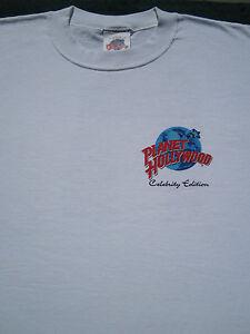 Planet hollywood whoopi goldberg edition large t shirt ebay for Planet hollywood t shirt