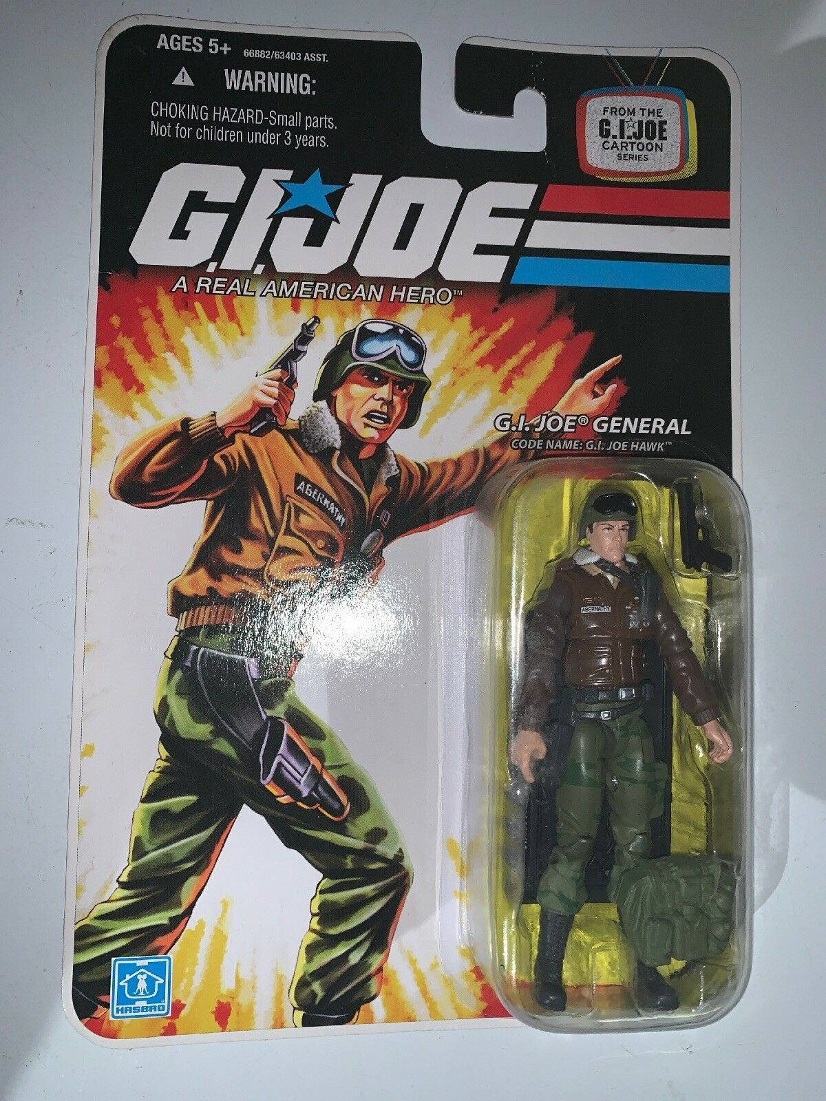 G I GI JOE 25TH ANNIVERSARY CLAYTON ABERNATHY GENERAL HAWK ACTION FIGURE 3 3 4""