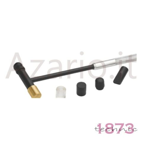 4 accessori orafo Hobby Hammer Martello acciaio doppia testa ottone plastica