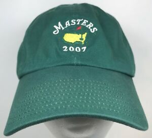 1a0dbd81164cc Image is loading 2007-Masters-Golf-Green-Augusta-Georgia-Adjustable-Dad-